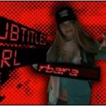 Subtitled girl