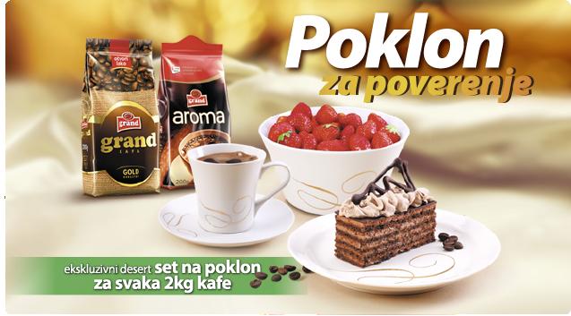 grand kafa poklon za poverenje reklama