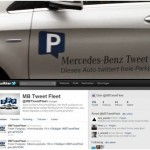 Gde se nalazi prazno parking mesto: Tweet Fleet- Mercedes