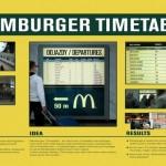 Redosled vožnji – Vreme čekanja – Mcdonalds