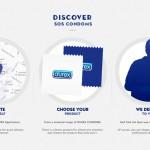 SOS Condoms: Durex: Aplikacija