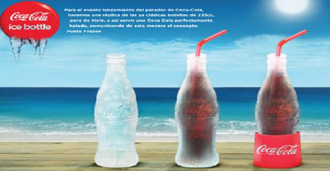 flasa od leda Coca Cola