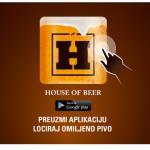 House Of Beer – Nova Carlsberg mobilna aplikacija