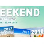 Weekend Media Festival 2013: šesti put u Rovinju, prvi put u Evropskoj uniji – 19-22 septembar