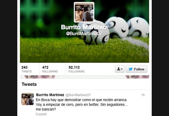 Burito Martinez - Twitter