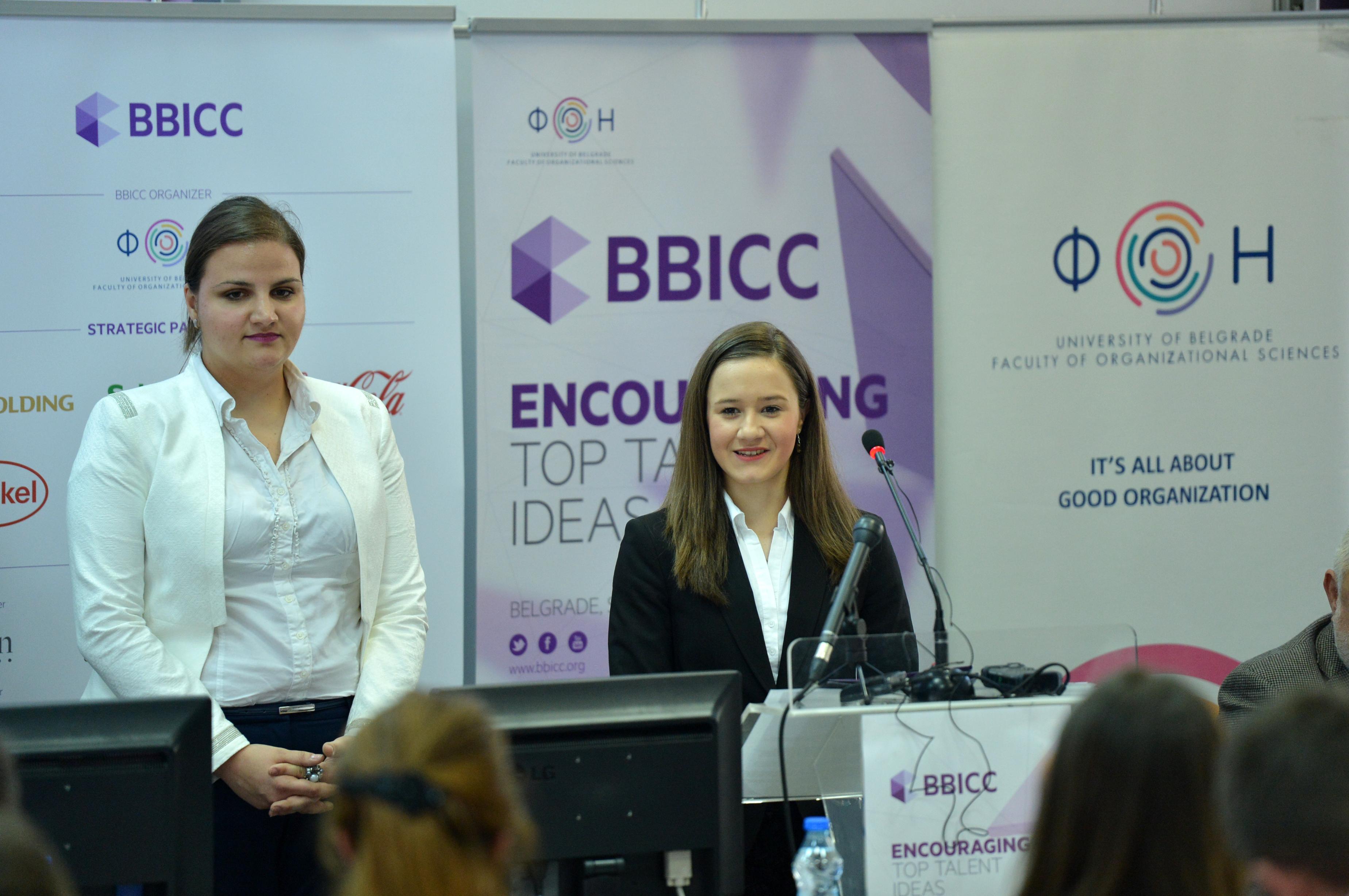 Mila.Petrović i Tijana Sefanović - predsednice organizacionog tima