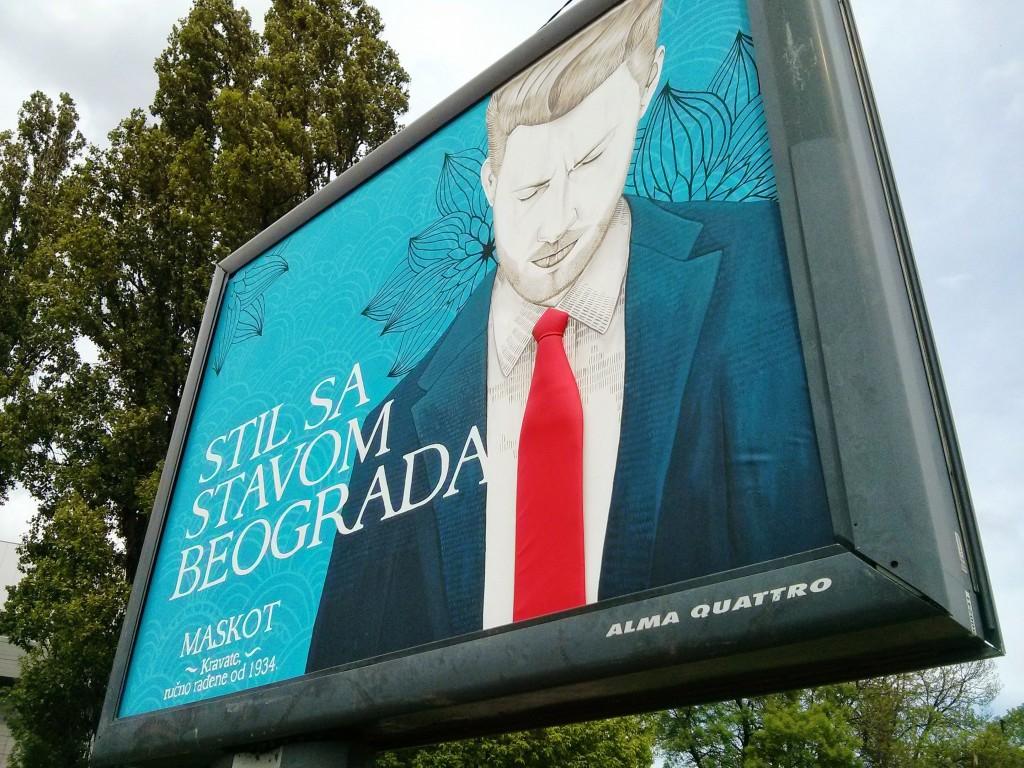 Stil sa stavom Beograda, Maskot - McCann Beograd III