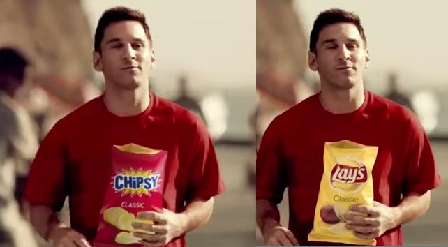 chipsy i messi i lays
