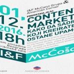I&F McĆošak- Kako da sadržaj koji kreirate ostane upamćen?