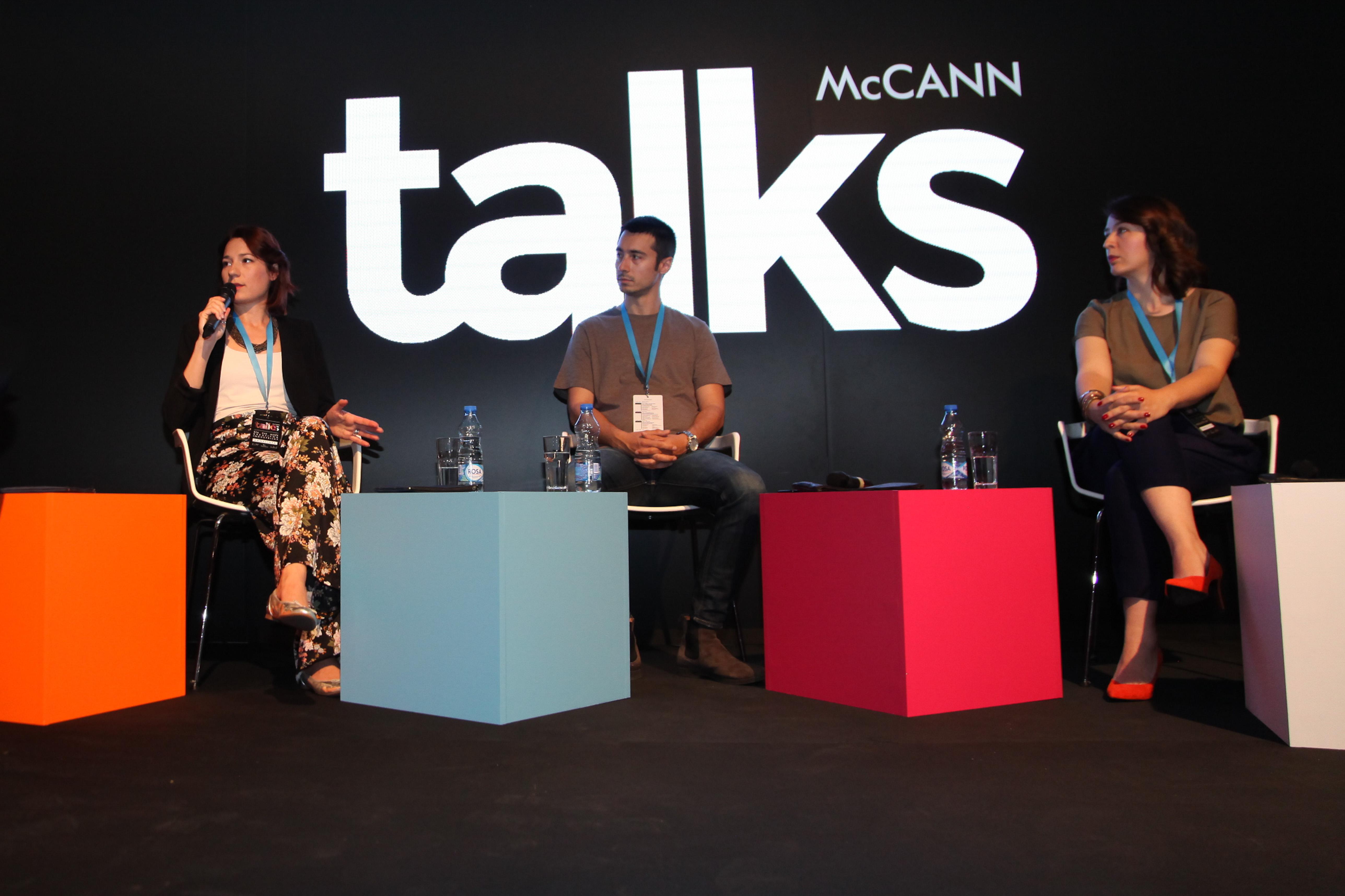 McCann Talks - Milica Božanić, Srpska filmska asocijacija, Mirko Topalski, Eipix, i Jana Savić Rastovac, McCann Beograd