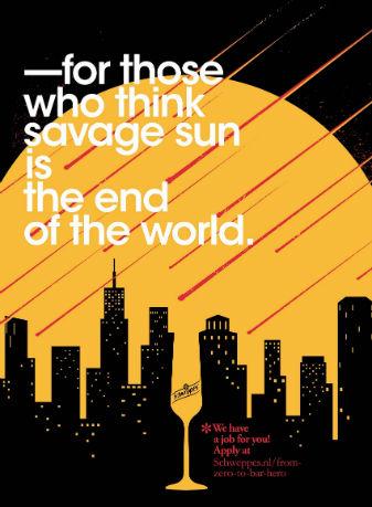 Schweppes - Savage sun