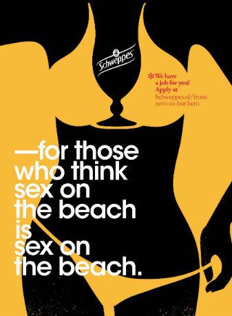 Schweppes - Sex on the beach