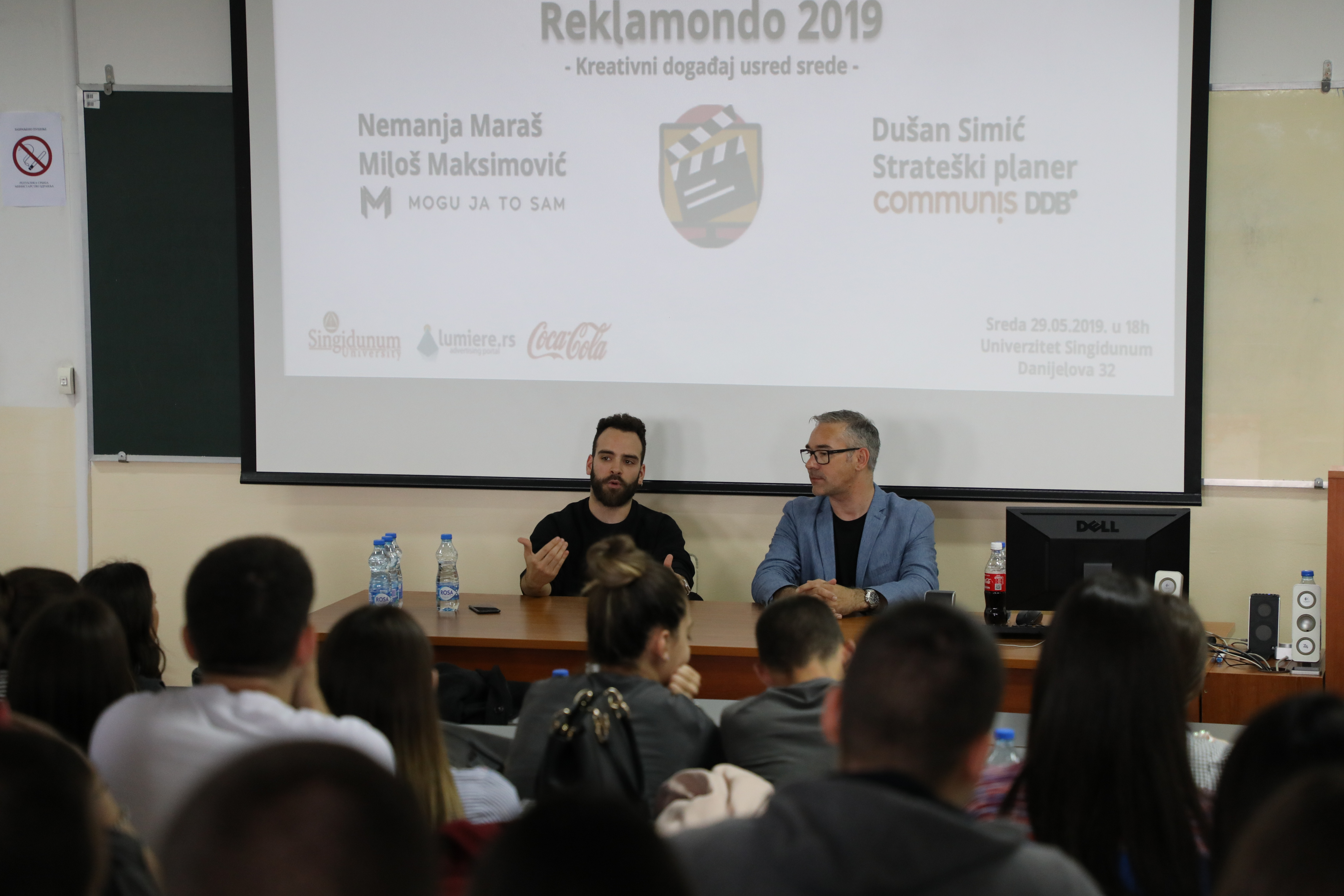 Nemanja Maraš i Miloš Maksimovič Reklamondo2019