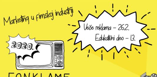 Fonklame2020: Marketing u filmskoj industriji