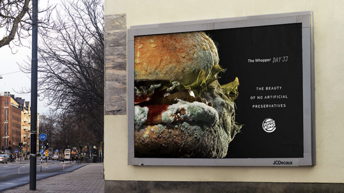 Burger King: The Moldy Whopper