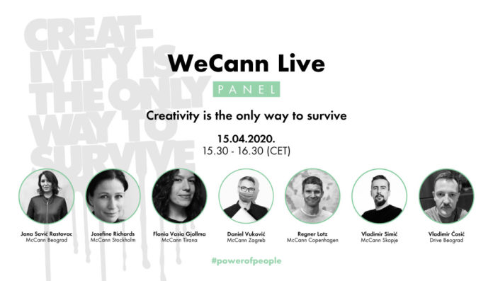 WECANN LIVE PANEL -CREATIVITY IS THE ONLY WAY TO SURVIVE